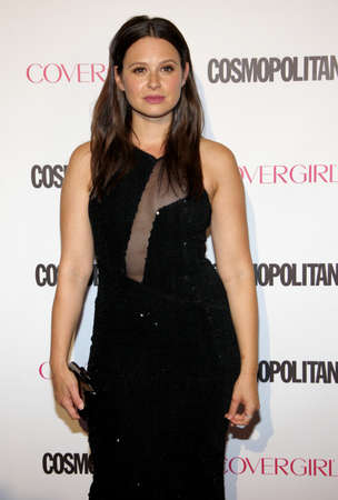 Katie Lowes at the Cosmopolitans 50th Birthday Celebration held at the Ysabel in Los Angeles, USA on October 12, 2015.