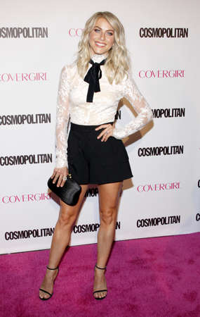 Julianne Hough at the Cosmopolitans 50th Birthday Celebration held at the Ysabel in Los Angeles, USA on October 12, 2015.
