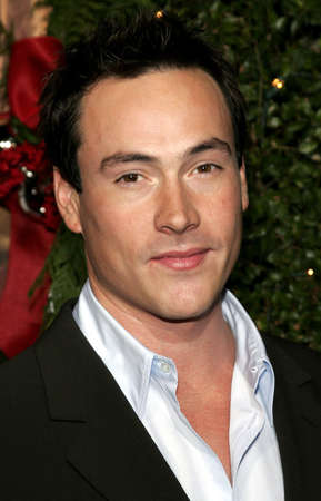 Chris Klein at the Los Angeles premiere of Just Friends Premiere at the Mann Village Theater in Westwood, USA on November 14, 2005.