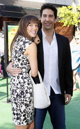 David Schwimmer at the Los Angeles premiere of