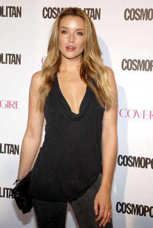 Sarah Dumont at the Cosmopolitans 50th Birthday Celebration held at the Ysabel in Los Angeles, USA on October 12, 2015.