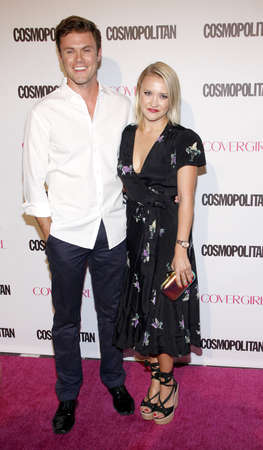 Emily Osment at the Cosmopolitan's 50th Birthday Celebration held at the Ysabel in Los Angeles, USA on October 12, 2015.