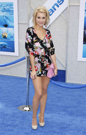 Chelsea Kane at the Los Angeles premiere of Oceans held at the El Capitan Theater in Hollywood, USA on April 17, 2010. Editorial