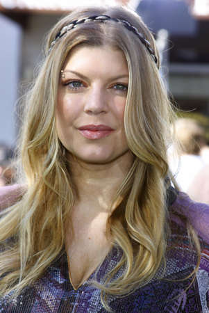 Fergie at the Los Angeles premiere of Madagascar: Escape 2 Africa held at the Mann Village Theater in Westwood, USA on October 26, 2008.