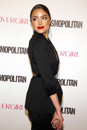 Olivia Culpo at the Cosmopolitans 50th Birthday Celebration held at the Ysabel in Los Angeles, USA on October 12, 2015. Editorial