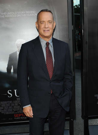 sully: Tom Hanks at the Los Angeles screening of Sully held at the DGA Theater in Hollywood, USA on September 8, 2016.