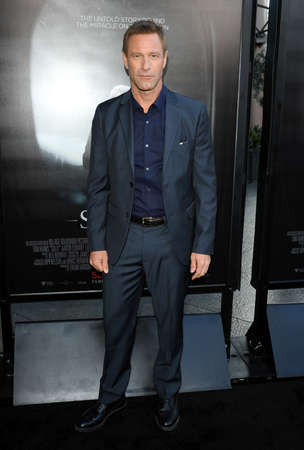 sully: Aaron Eckhart at the Los Angeles screening of Sully held at the DGA Theater in Hollywood, USA on September 8, 2016.