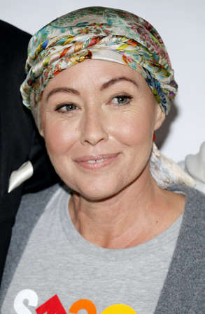 Shannen Doherty at the 5th Biennial Stand Up To Cancer held at the Walt Disney Concert Hall in Los Angeles, USA on September 9, 2016. Editorial