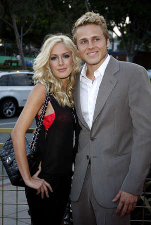 montag: Heidi Montag and Spencer Pratt at the Launch of the Scarlet HD TV Series held at the Pacific Design Center in West Hollywood, California, United States on April 28, 2008.