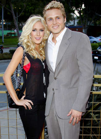 montag: Spencer Pratt and Heidi Montag at the LG Electronics (LG) Launch of the Scarlet HDTV Series held at the Pacific Design Center in West Hollywood, USA on April 28, 2008. Editorial