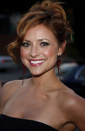 Christine Lakin at the LG Electronics (LG) Launch of the Scarlet HDTV Series held at the Pacific Design Center in West Hollywood, California, United States on April 28, 2008. Editorial