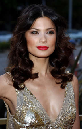 Natassia Malthe at the LG Electronics (LG) Launch of the Scarlet HDTV Series held at the Pacific Design Center in West Hollywood, California, United States on April 28, 2008.