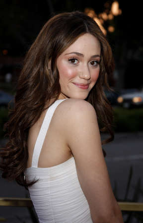 Emmy Rossum at the LG Electronics (LG) Launch of the Scarlet HDTV Series held at the Pacific Design Center in West Hollywood, California, United States on April 28, 2008.