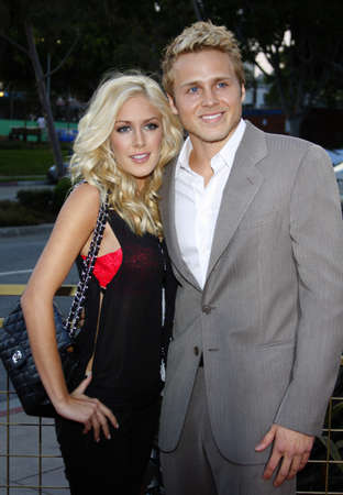 montag: Heidi Montag and Spencer Pratt at the LG Electronics (LG) Launch of the Scarlet HDTV Series held at the Pacific Design Center in West Hollywood, USA on April 28, 2008.