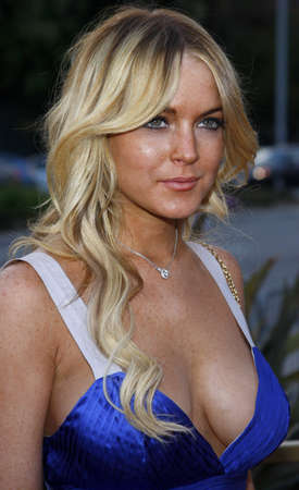 Lindsay Lohan at the LG Electronics (LG) Launch of the Scarlet HDTV Series held at the Pacific Design Center in West Hollywood, USA on April 28, 2008.