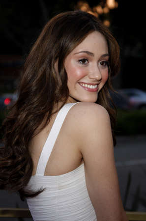 west hollywood: Emmy Rossum at the Launch of the Scarlet HD TV Series held at the Pacific Design Center in West Hollywood, USA on April 28, 2008.
