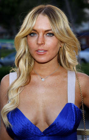 Lindsay Lohan at the Launch of the Scarlet HD TV Series held at the Pacific Design Center in West Hollywood, USA on April 28, 2008.