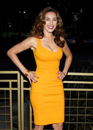 west hollywood: Kelly Brook at the Launch of the Scarlet HD TV Series held at the Pacific Design Center in West Hollywood, USA on April 28, 2008. Editorial