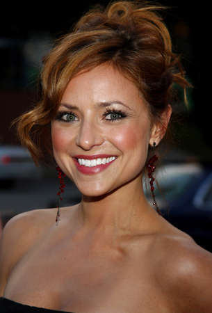 christine: Christine Lakin at the Launch of the Scarlet HD TV Series held at the Pacific Design Center in West Hollywood, USA on April 28, 2008.