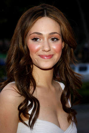 Emmy Rossum at the Launch of the Scarlet HD TV Series held at the Pacific Design Center in West Hollywood, USA on April 28, 2008.