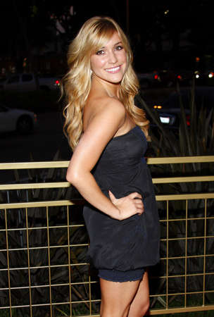 Kristin Cavallari at the Launch of the Scarlet HD TV Series held at the Pacific Design Center in West Hollywood, USA on April 28, 2008.