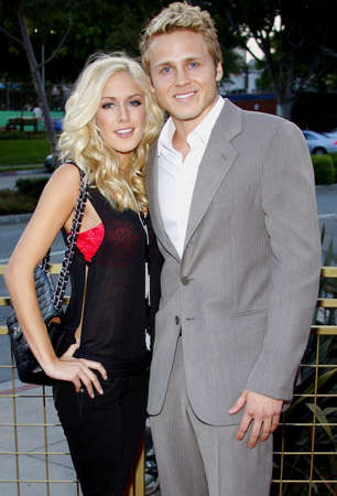 montag: Heidi Montag and Spencer Pratt at the Launch of the Scarlet HD TV Series held at the Pacific Design Center in West Hollywood, USA on April 28, 2008. Editorial