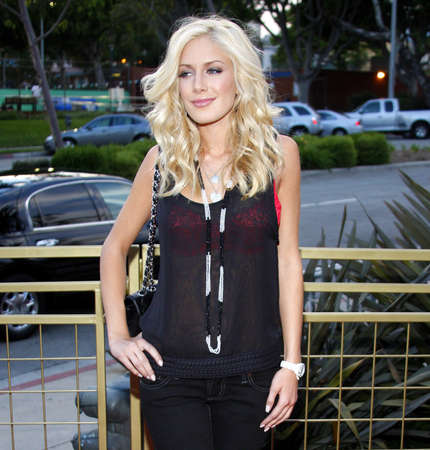 Heidi Montag at the Launch of the Scarlet HD TV Series held at the Pacific Design Center in West Hollywood, USA on April 28, 2008. Editorial