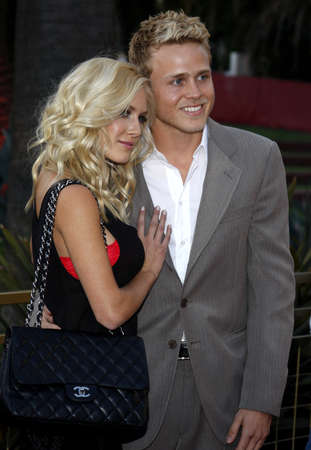 Heidi Montag and Spencer Pratt at the Launch of the Scarlet HD TV Series held at the Pacific Design Center in West Hollywood, USA on April 28, 2008. Editorial
