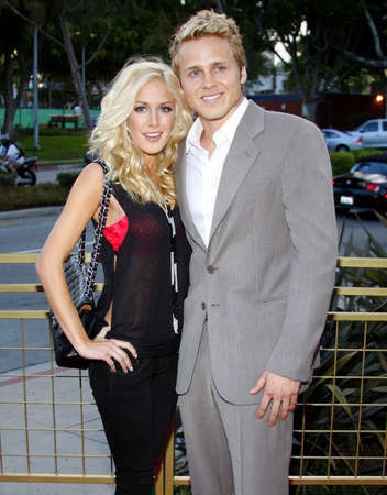 Spencer Pratt and Heidi Montag at the Launch of the Scarlet HD TV Series held at the Pacific Design Center in West Hollywood, USA on April 28, 2008.
