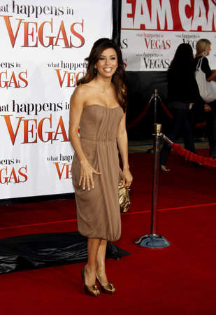 Eva Longoria at the World premiere of What Happens in Vegas held Mann Village Theater in Westwood, California, United States on May 1, 2008. Editorial