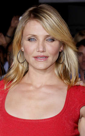 Cameron Diaz at the World premiere of What Happens in Vegas held Mann Village Theater in Westwood, California, United States on May 1, 2008. Editorial