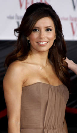 Eva Longoria at the World premiere of What Happens in Vegas held at the Mann Village Theater in Westwood, California, United States on May 1, 2008.