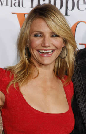 happens: Cameron Diaz at the World premiere of What Happens in Vegas held at the Mann Village Theater in Westwood, USA on May 1, 2008.