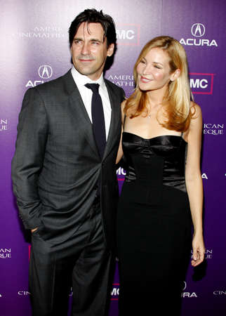 samuel: Jon Hamm and Jennifer Westfeldt at the 23rd Annual American Cinematheque Award Ceremony Honoring Samuel L. Jackson held at the Beverly Hilton Hotel in Beverly Hills, USA on December 1, 2008. Editorial