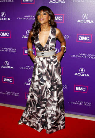 Kerry Washington at the 23rd Annual American Cinematheque Award Ceremony Honoring Samuel L. Jackson held at the Beverly Hilton Hotel in Beverly Hills, USA on December 1, 2008. Redakční