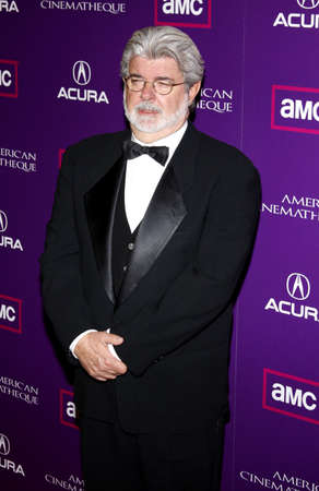 George Lucas at the 23rd Annual American Cinematheque Award Ceremony Honoring Samuel L. Jackson held at the Beverly Hilton Hotel in Beverly Hills, USA on December 1, 2008.