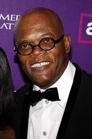 Samuel L. Jackson at the 23rd Annual American Cinematheque Award Ceremony Honoring Samuel L. Jackson held at the Beverly Hilton Hotel in Beverly Hills, USA on December 1, 2008.