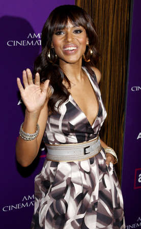 Kerry Washington at the 23rd Annual American Cinematheque Award Ceremony Honoring Samuel L. Jackson held at the Beverly Hilton Hotel in Beverly Hills, USA on December 1, 2008. Sajtókép