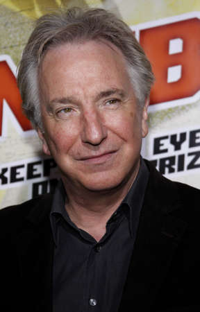 Alan Rickman at the Los Angeles premiere of Noble Son held at the Egyptian Theater, Hollywood, USA on December 2, 2008.