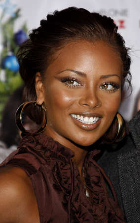 Eva Marcille at the Los Angeles premiere of Nothing Like The Holidays held at the Graumans Chinese Theater in Hollywood, California, United States on December 3, 2008. Editorial