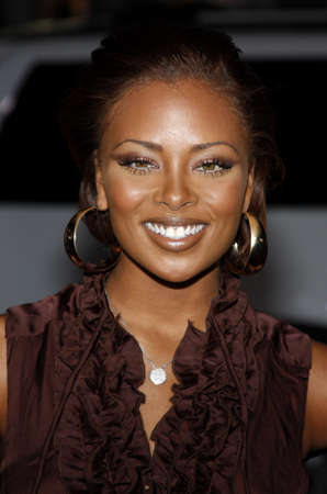 Eva Marcille at the Los Angeles premiere of Nothing Like The Holidays held at the Graumans Chinese Theater in Hollywood, USA on December 3, 2008.