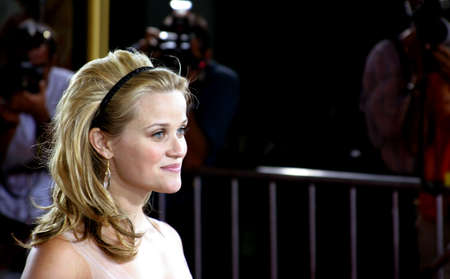 Reese Witherspoon at the Los Angeles premiere of Just Like Heaven held at the Graumans Chinese Theatre in Hollywood, USA on September 8, 2005. Editorial