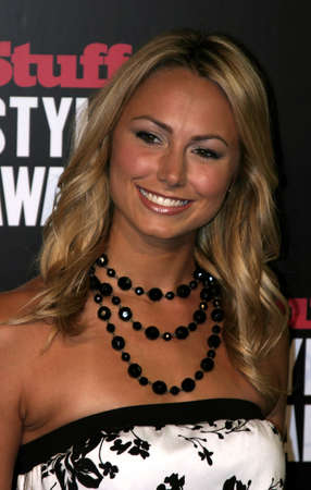 Stacy Keibler at the 2005 Stuff Style Awards held at the Hollywood Roosevelt Hotel in Los Angeles, California, United States on September 7, 2005.
