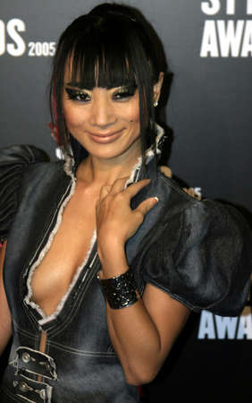 Bai Ling at the 2005 Stuff Style Awards held at the Hollywood Roosevelt Hotel in Los Angeles, California, United States on September 7, 2005.