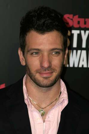 J.C. Chasez at the 2005 Stuff Style Awards held at the Hollywood Roosevelt Hotel in Los Angeles, California, United States on September 7, 2005.