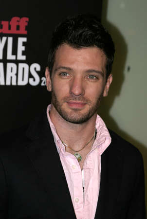 JC Chasez at the 2005 Stuff Style Awards held at the Hollywood Roosevelt Hotel in Los Angeles, California, United States on September 7, 2005.