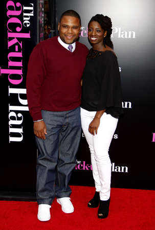 Anthony Anderson at the Los Angeles premiere of The Back-Up Plan held at the Regency Village Theatre in Westwood, USA on April 21, 2010. Editorial