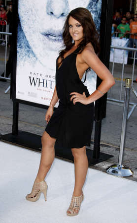 Lacey Schwimmer at the Los Angeles premiere of Whiteout held at the Mann Village Theater in Westwood, USA on September 9, 2009.