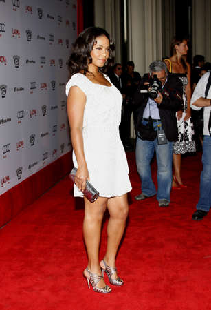 Sanaa Lathan at the Los Angeles premiere of The September Issue held at the LACMA in Los Angeles, USA on September 8, 2009.