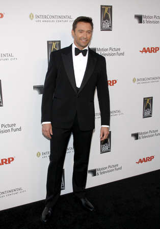 hugh: Hugh Jackman at the 5th Annual A Fine Romance Benefit held at the Fox Studio Lot in Hollywood, California, United States on May 1, 2010.